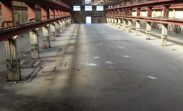 halle industrielle