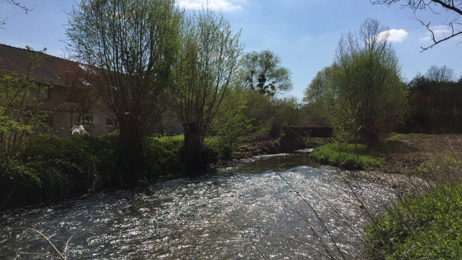La Mauldre et le pont